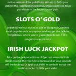 Top 5 Irish Slots Infographic